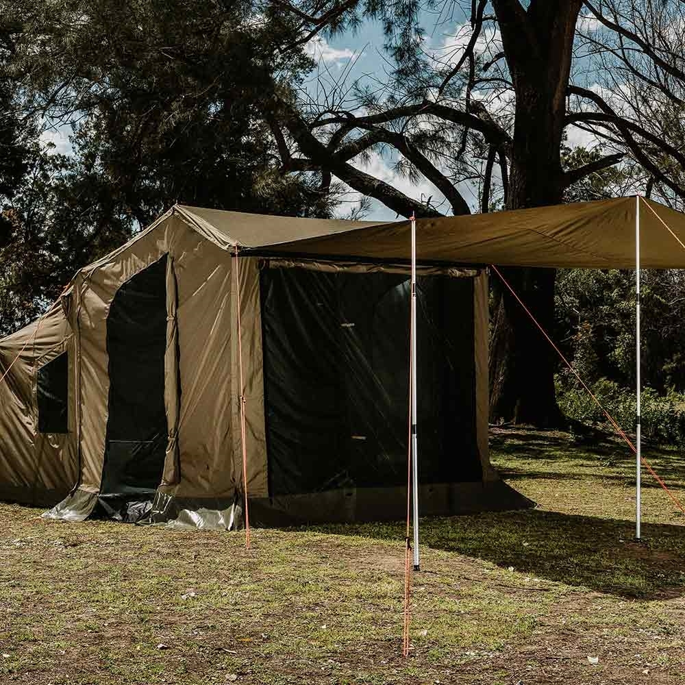 Oztent RV Plus Front Panel - Doubles as an extra awning (poles not included)