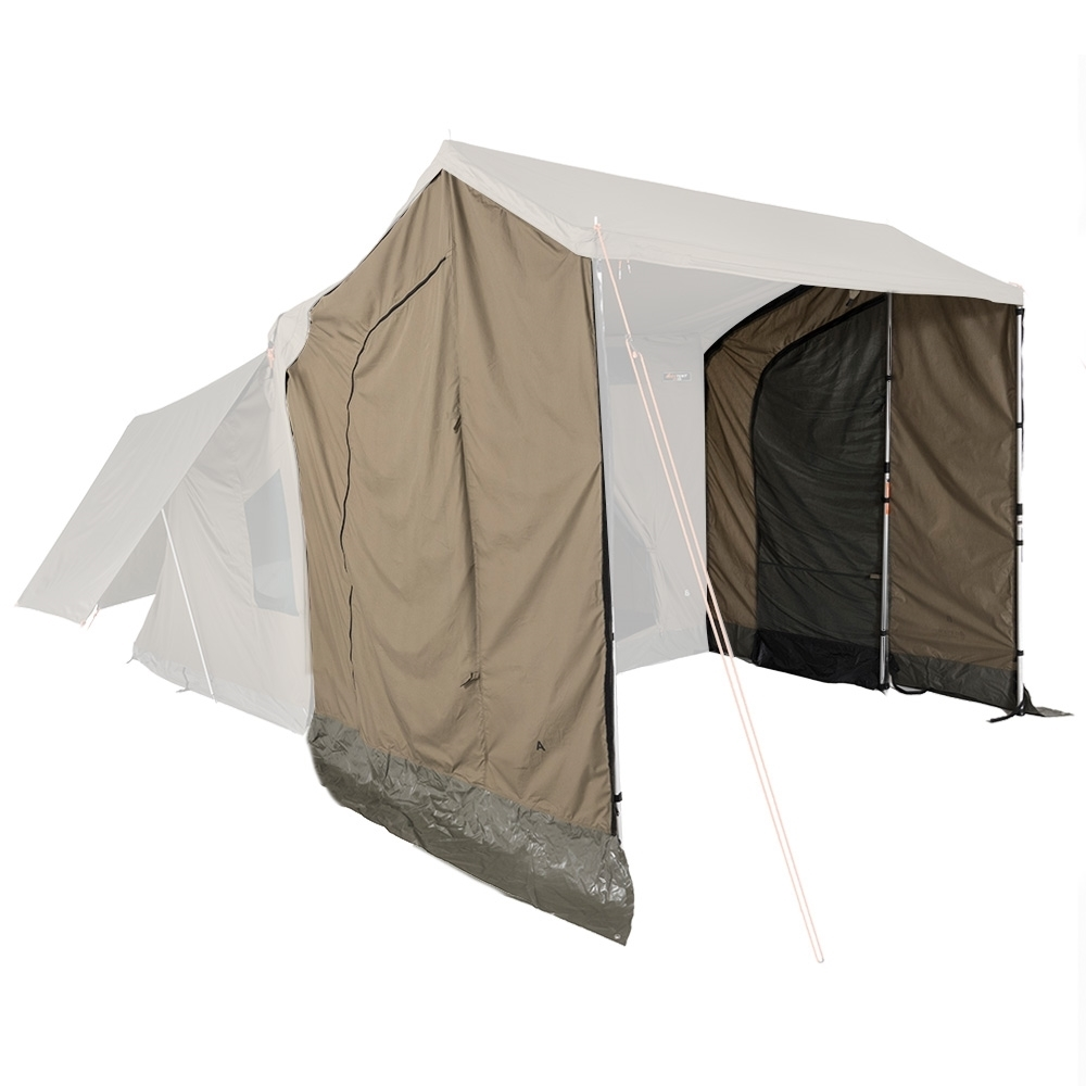 Oztent RV-3/5 Plus Peaked Side Panels - Fast and easy installation, just zip them on