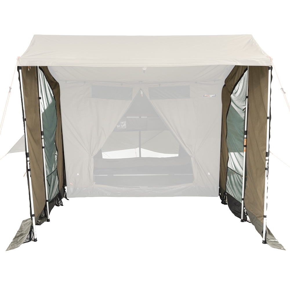 Oztent RV-3/5 Plus Peaked Side Panels - Increases protected living area