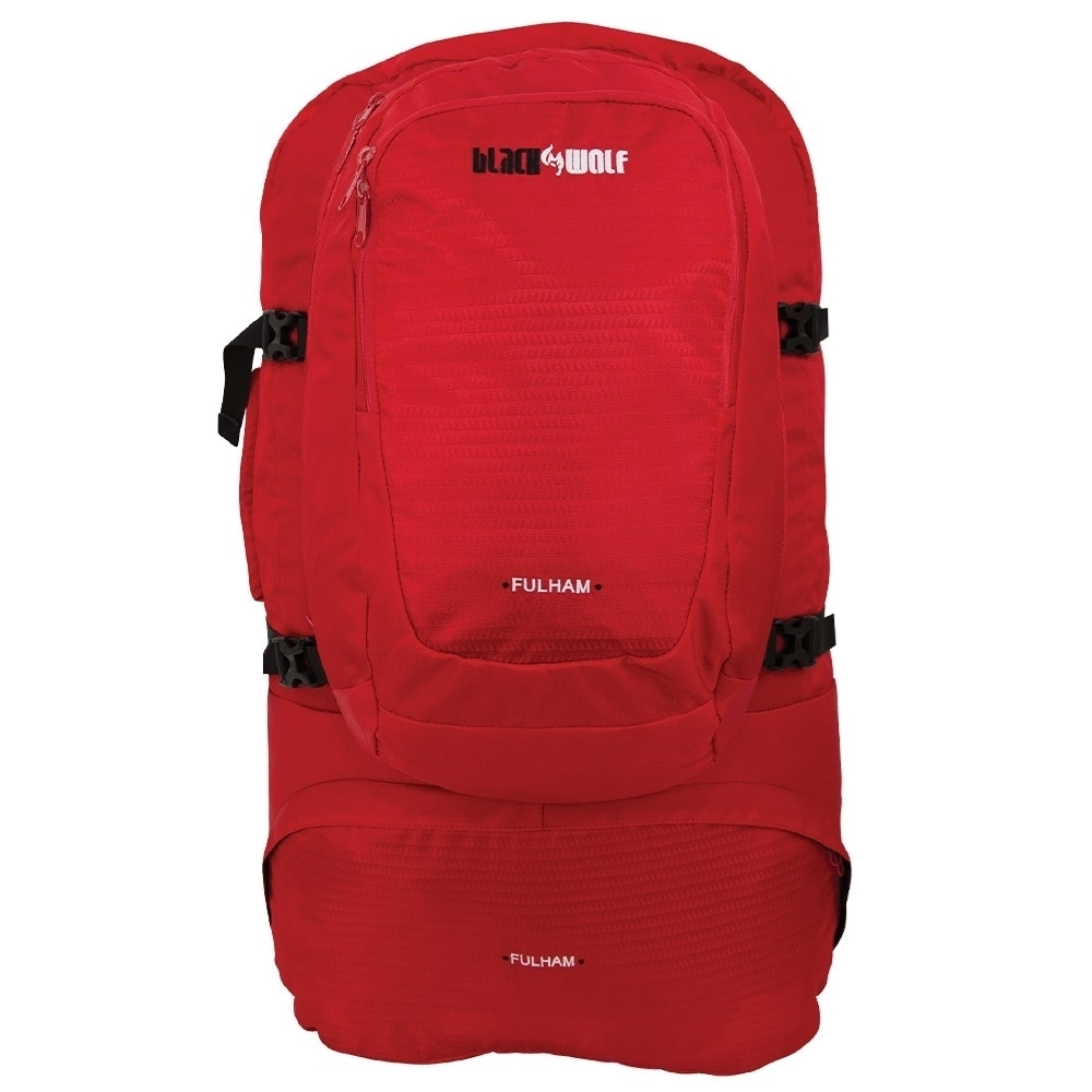 Black Wolf Fulham 60L Travel Pack - True Red