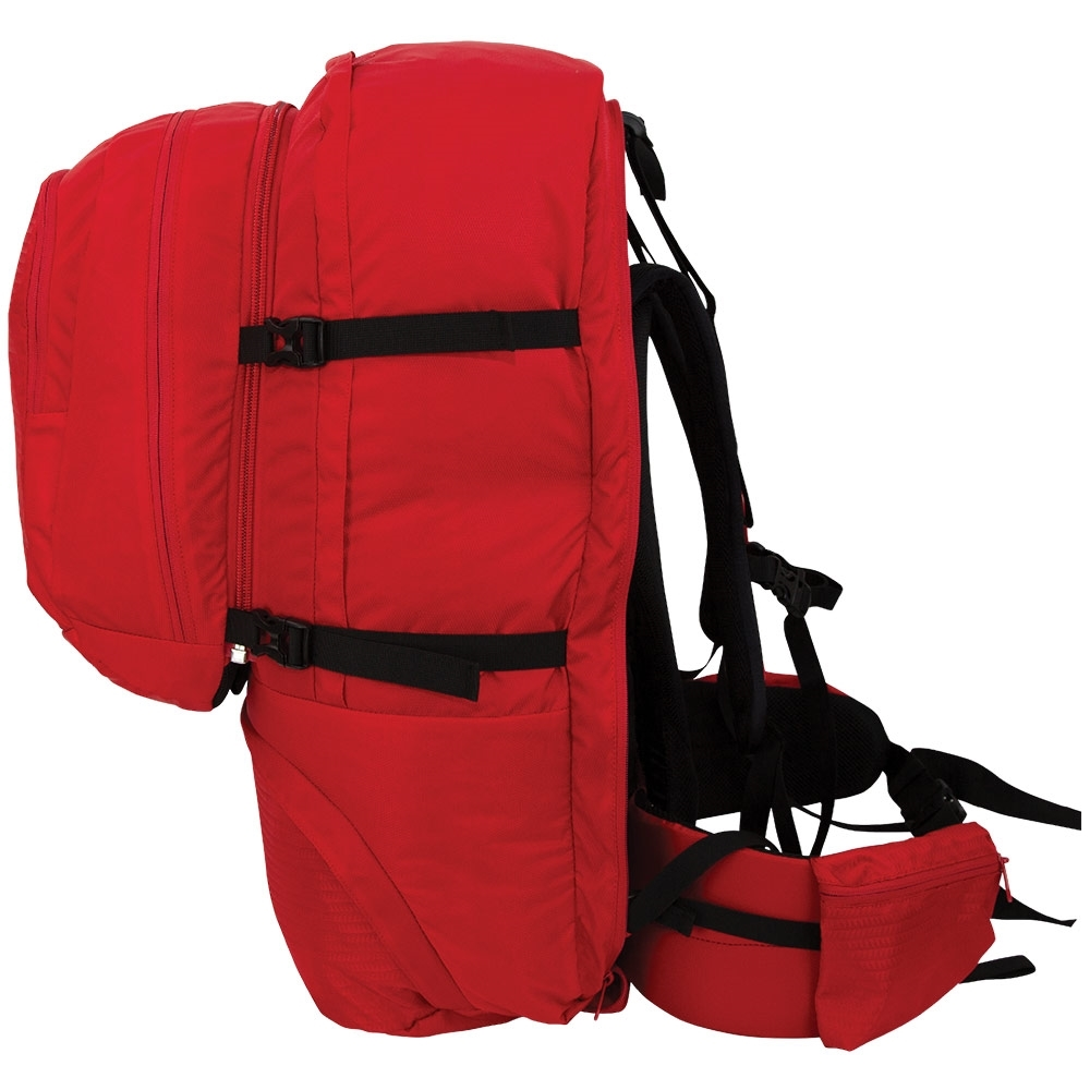 Black Wolf Fulham 80L Travel Pack - Hip belt with stow-pockets