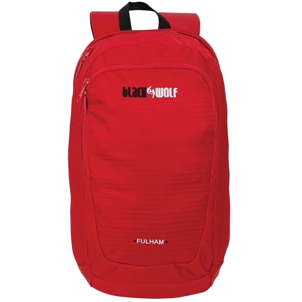 Black Wolf Fulham 80L Travel Pack - 16L Daypack, front zip pocket