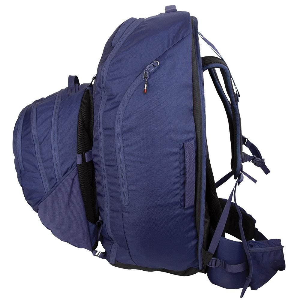 Black Wolf Helan 65L Travel Pack - Lockable zips