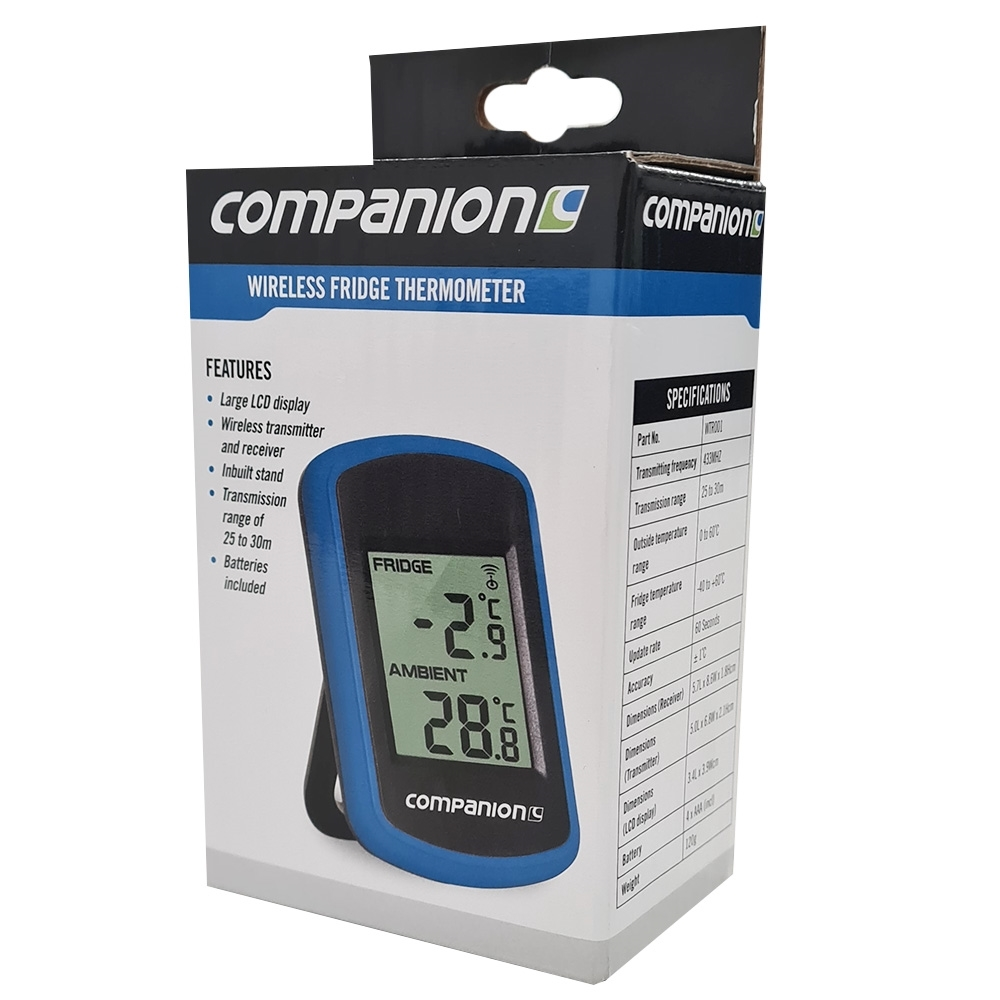 Companion Wireless Fridge Thermometer - Packaging