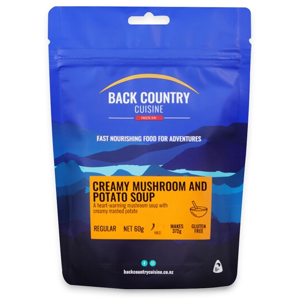 Back Country Cuisine Creamy Mushroom and Potato Soup 60g