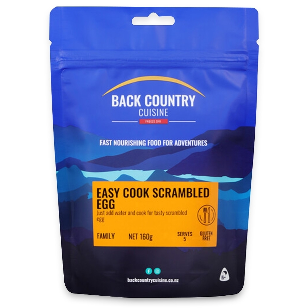 Back Country Cuisine Easy-cook Scrambled Egg 160g - Family
