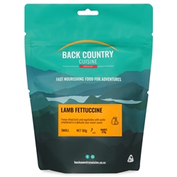 Back Country Cuisine Lamb Fettuccine Small Serve 90g