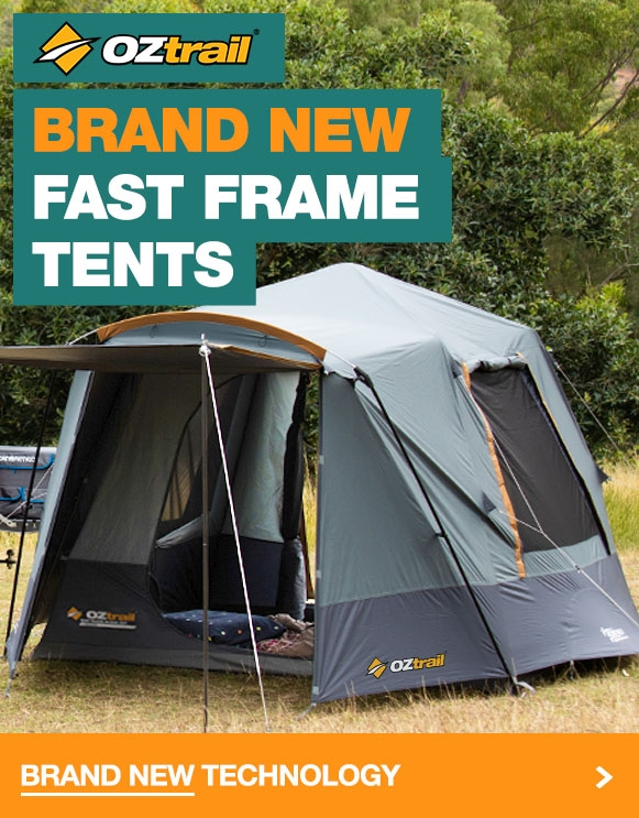 Brand new Fast Frame Tents from Oztrail at the lowest prices in Australia