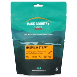 Back Country Cuisine Vegetarian Stirfry Small Serve 90g