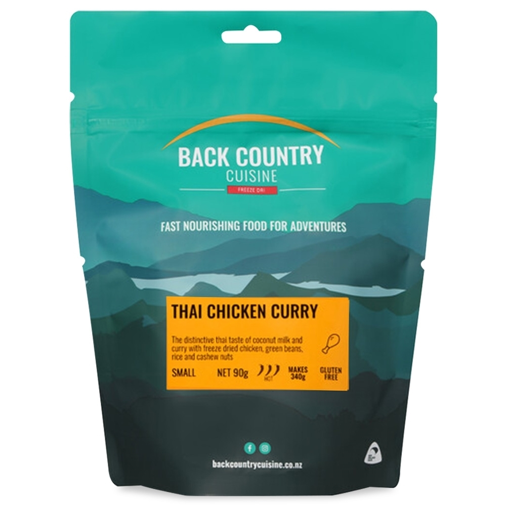 Back Country Cuisine Thai Chicken Curry GF Small Serve 90g