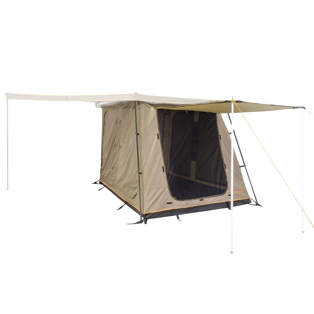 Darche Eclipse Retreat - Front roll up door can be used as an additional awning