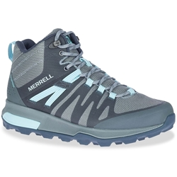 Merrell Zion FST WP Mid Wmn's Boot Storm Canal