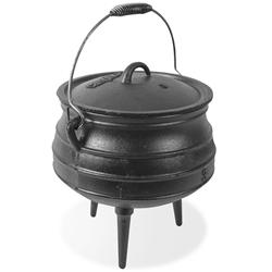 Campfire 8L Cast Iron Potjie Pot