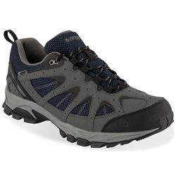 Hi-Tec Quixhill Trail WP Men's Shoe Charcoal Navy Cool Grey