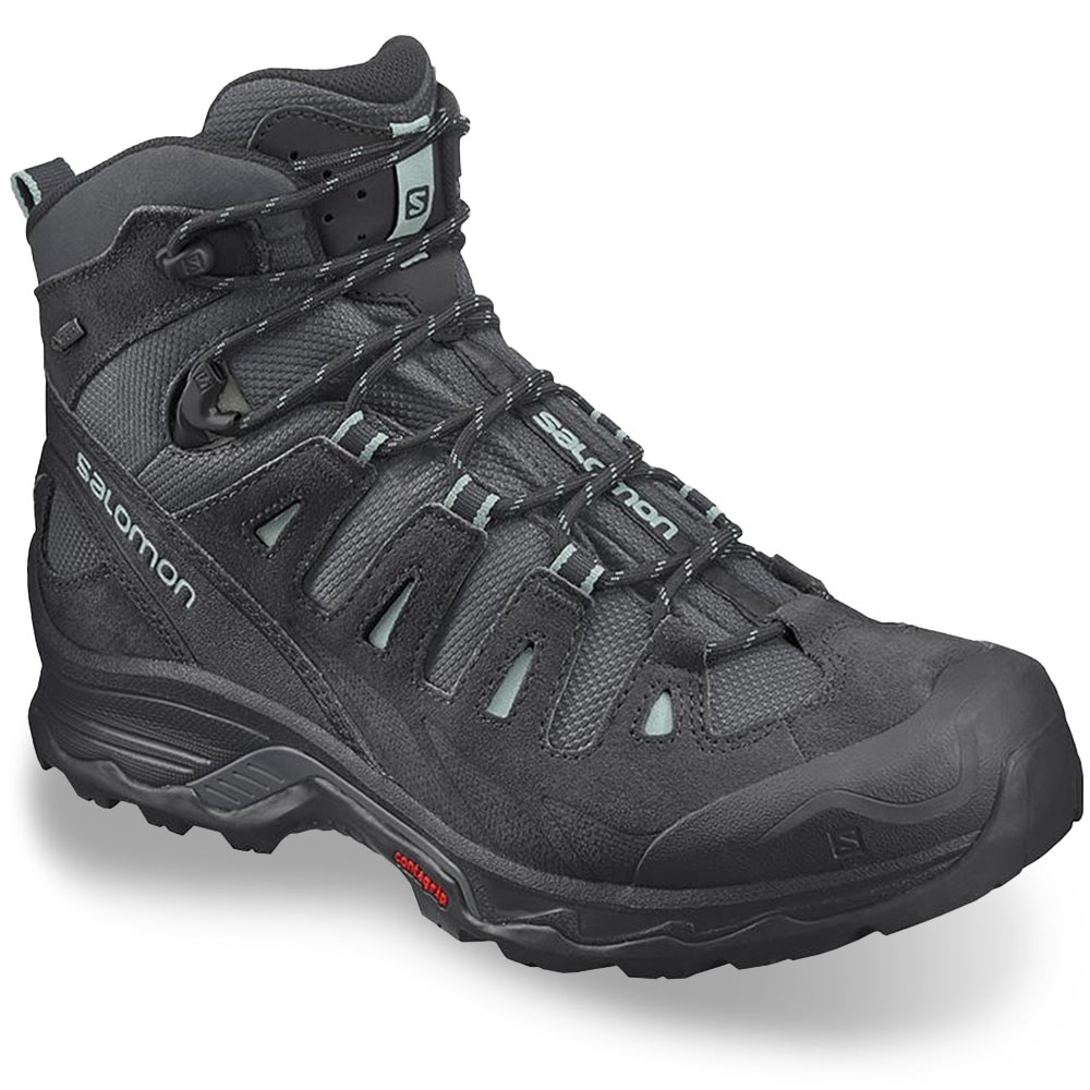 Salamon Quest Prime GTX Wmn's Boot Ebony Black Icy Morn