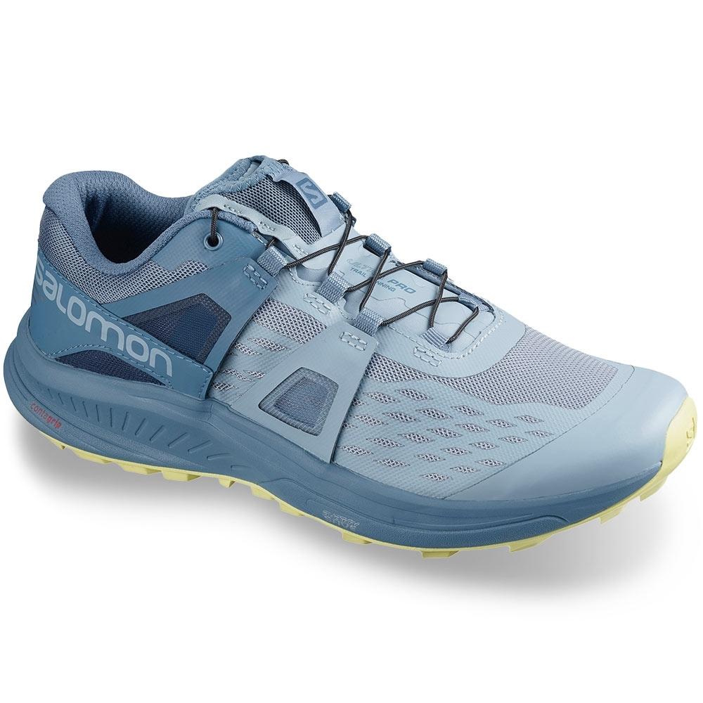 Salomon Ultra Pro Wmn's Shoe Ashley Blue Copen Blue Charlock
