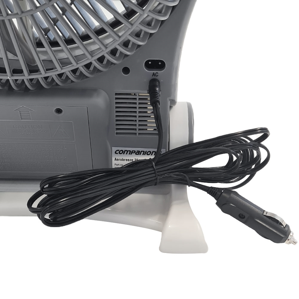 Companion Aero Breeze Fan 25cm - 12 Volt