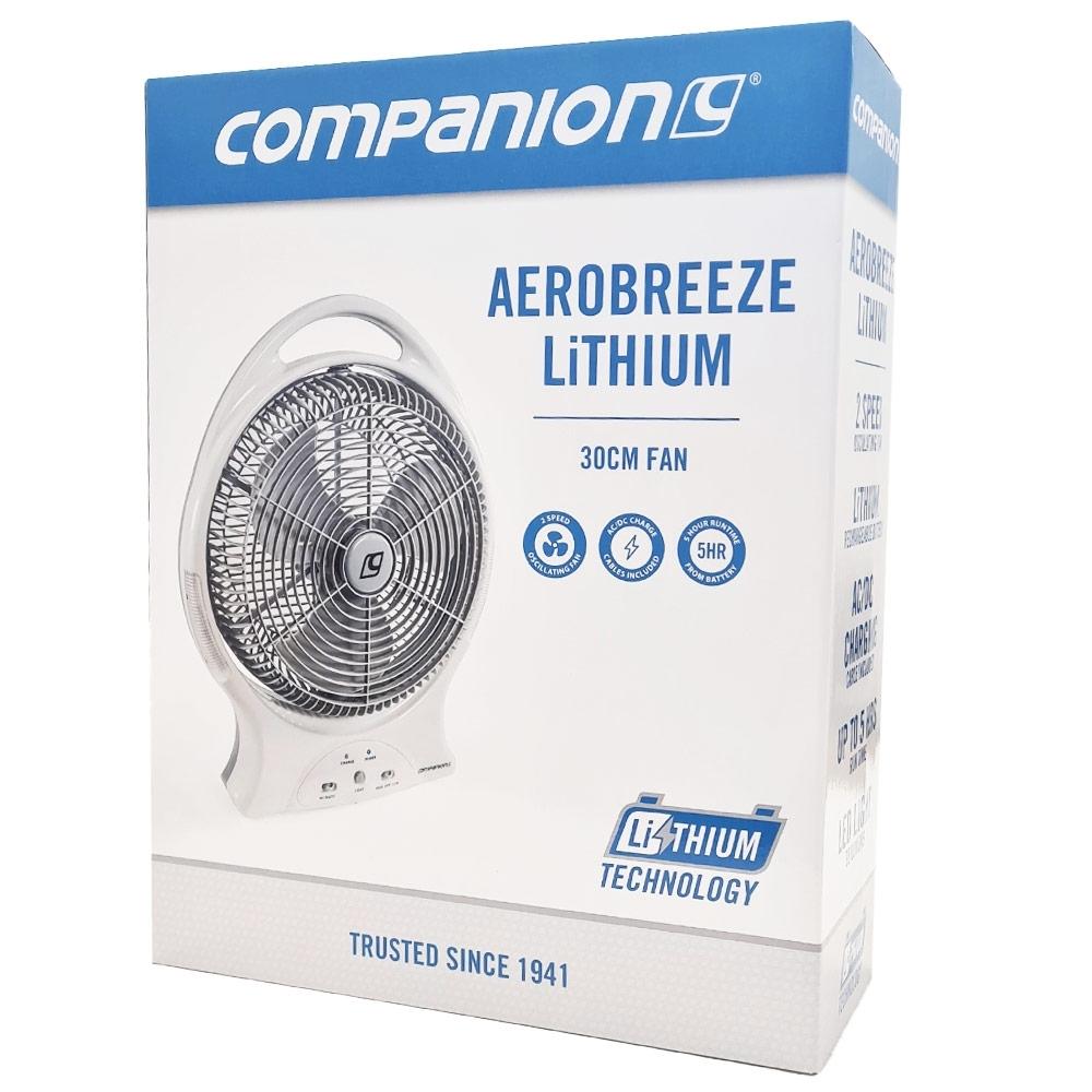 Companion Aero Breeze Fan 30cm - Box