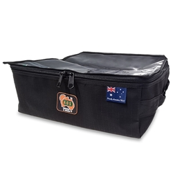 AOS Canvas Rear Drawer Bag Large Black