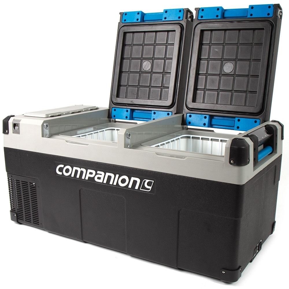 Companion Lithium 75L Dual Zone Fridge/Freezer - Dual compartments