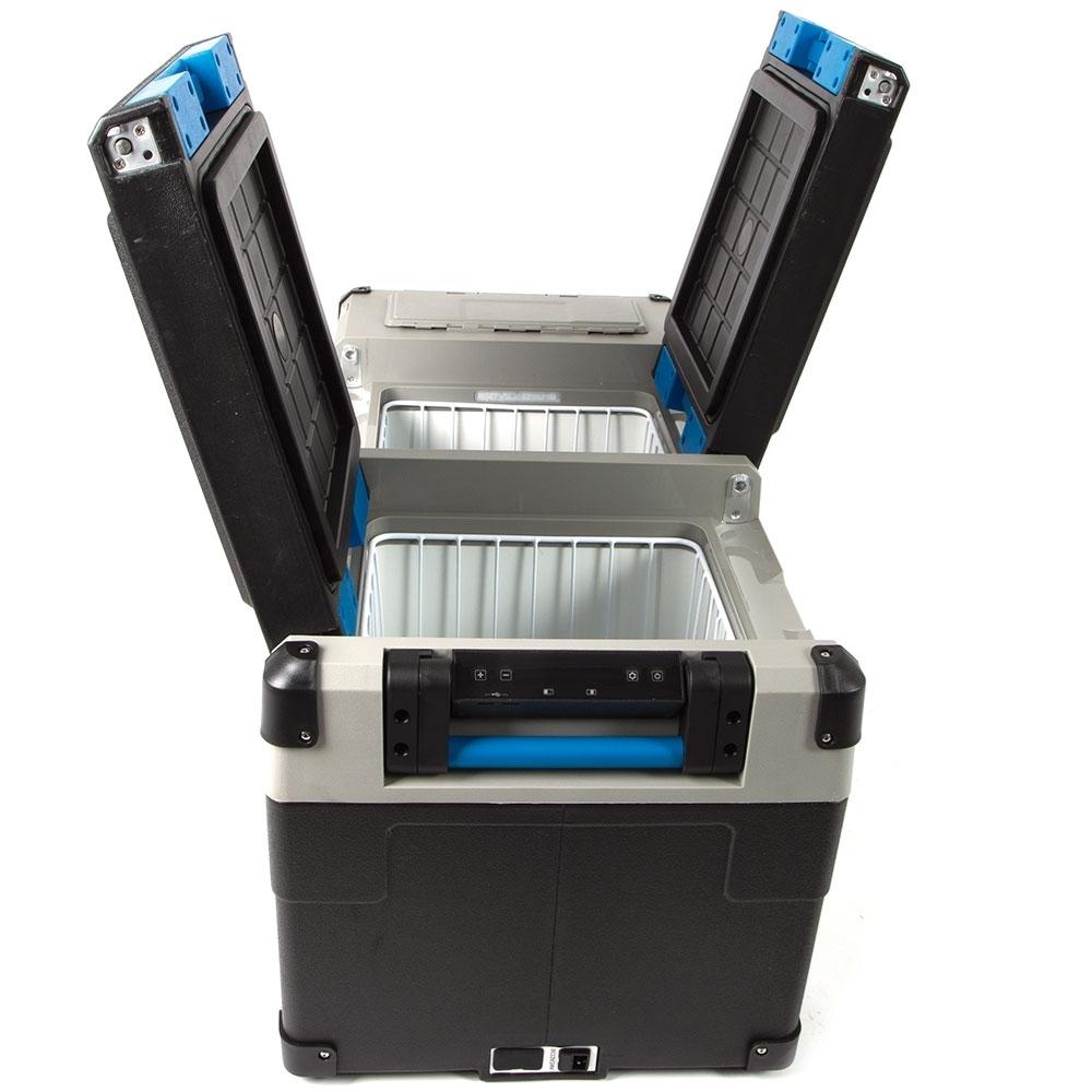 Companion Lithium 75L Dual Zone Fridge/Freezer - Dual direction lids