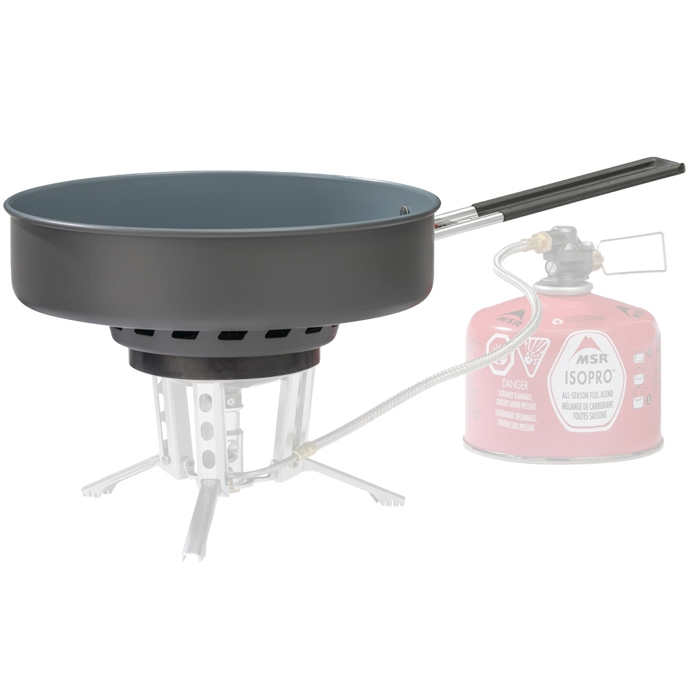 MSR WindBurner Ceramic Skillet - Designed for the MSR WindBurner Stove System