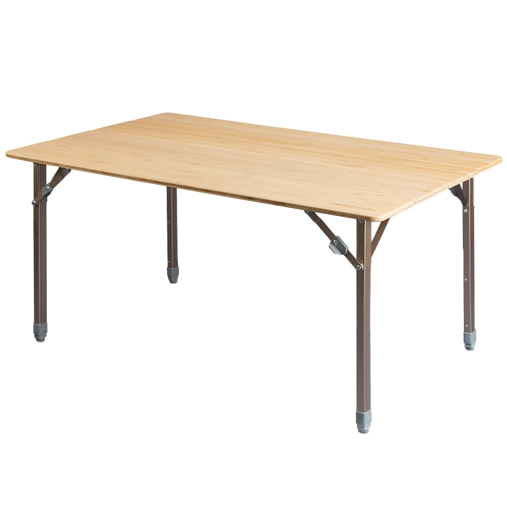 Zempire Kitpac Large V2 Camp Table - Adjustable legs allow the table to be used at coffee table height