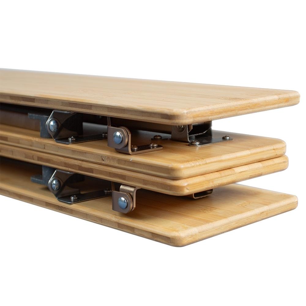 Zempire Kitpac Large V2 Camp Table - Compact folding design