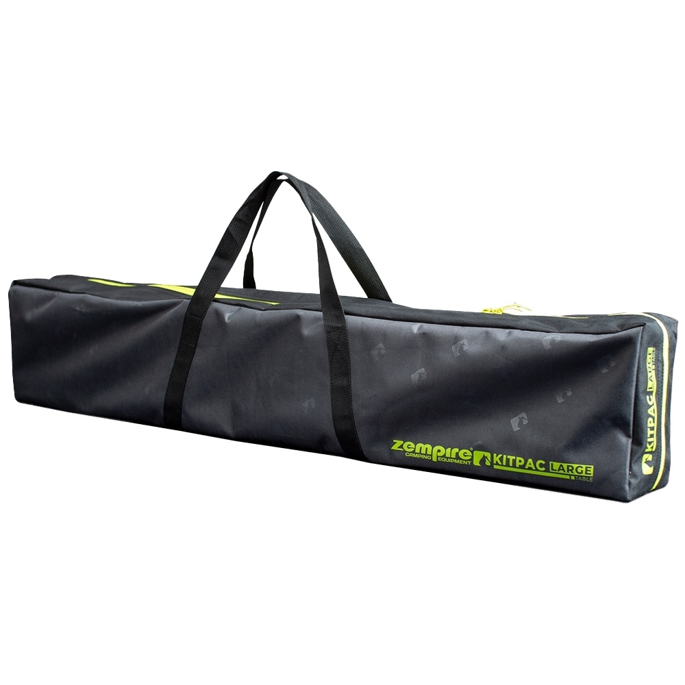 Zempire Kitpac Large V2 Camp Table - 400D polyester carry bag