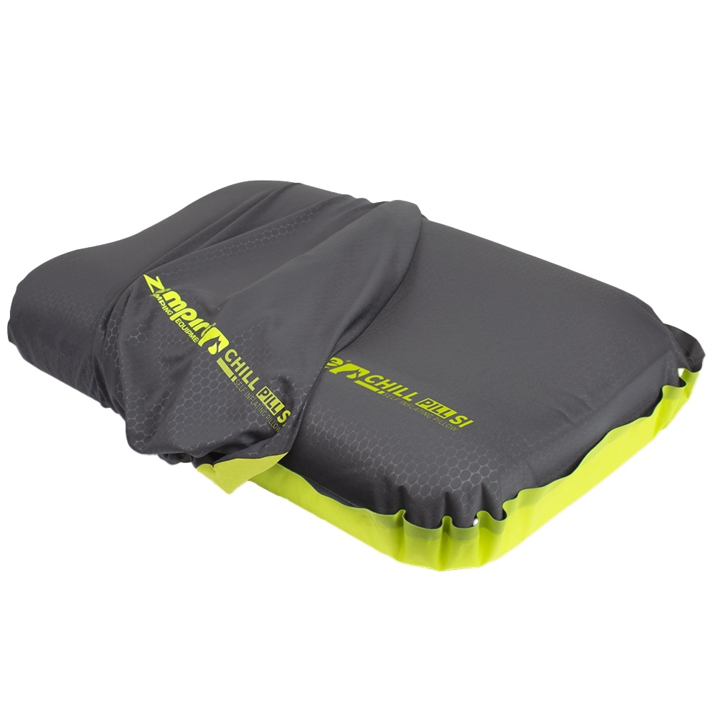 Zempire Chill Pill Self Inflating V2 Pillow - Super stretch material