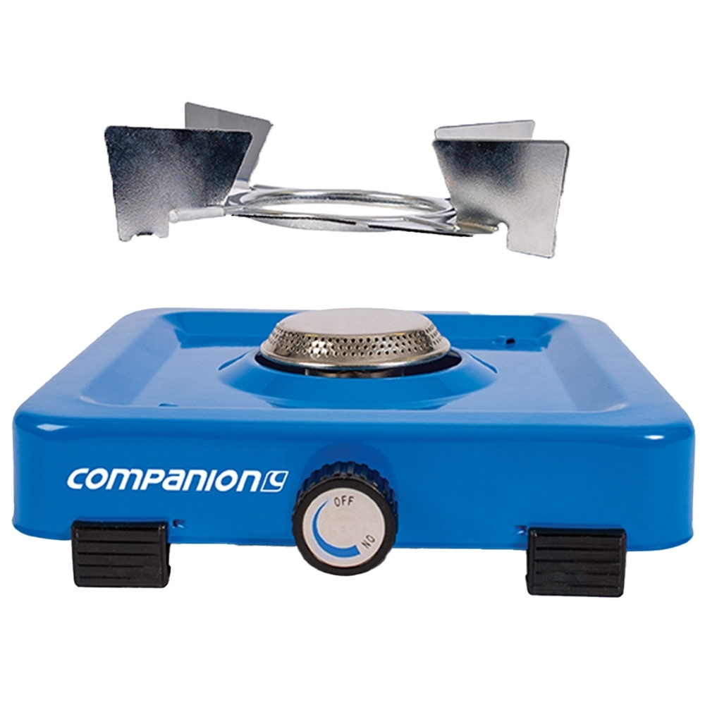 Companion Propane Single Stove - Removable trivet for easy storage