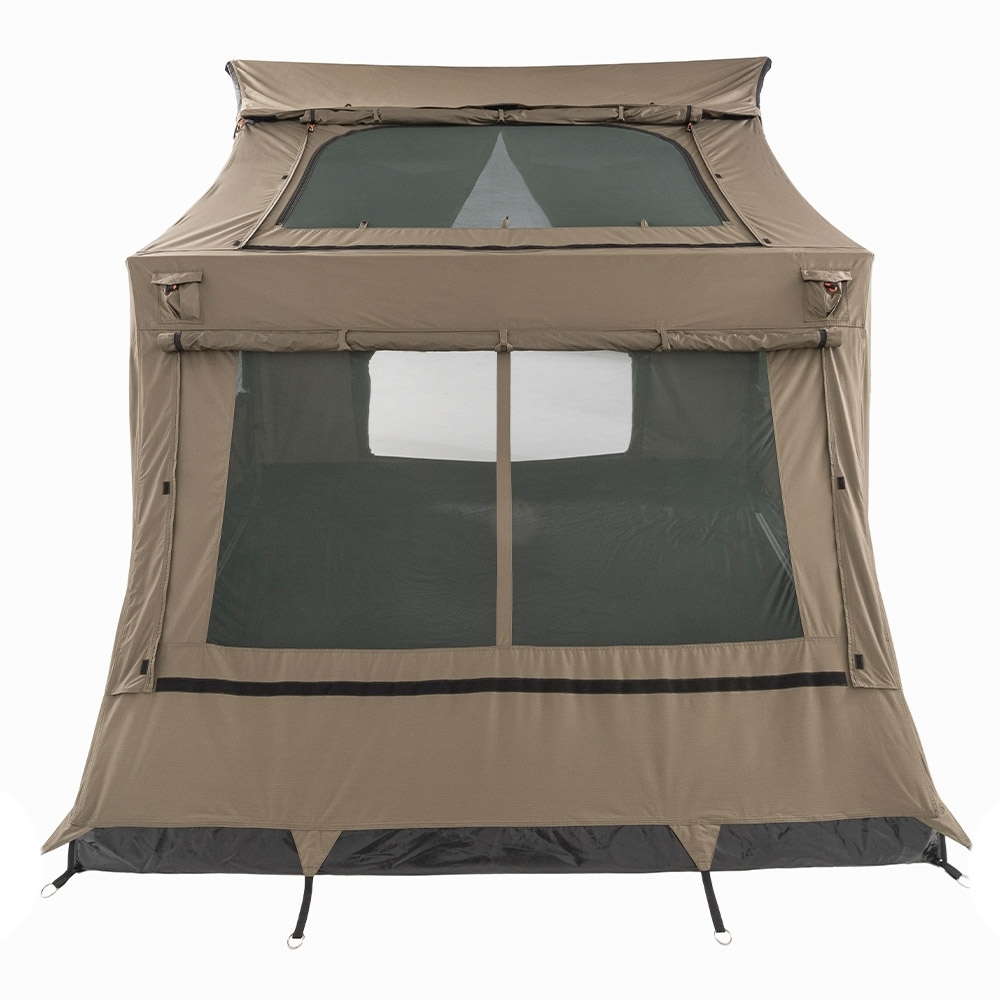 Oztent SV-5 Max Canvas Touring Tent - Superfine Mesh on windows & SkyMesh Skylight