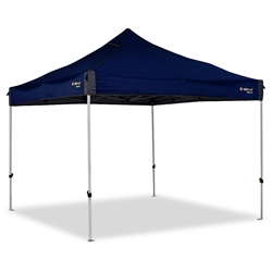 Oztrail Deluxe 3.0 Blue Gazebo with Anti Ponding Bars