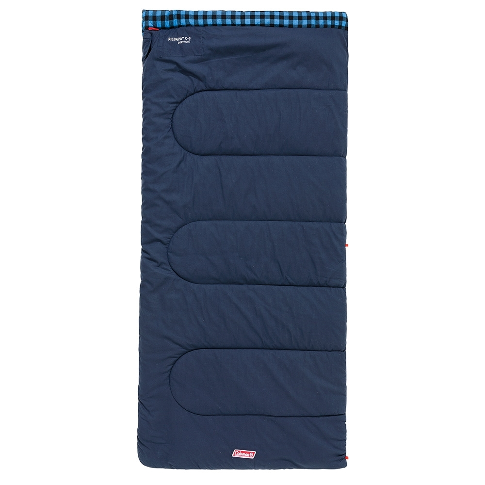 Coleman Pilbara C-5 Sleeping Bag Zipped Up