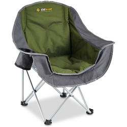 Oztrail Moon Chair Junior Kids Chair Green