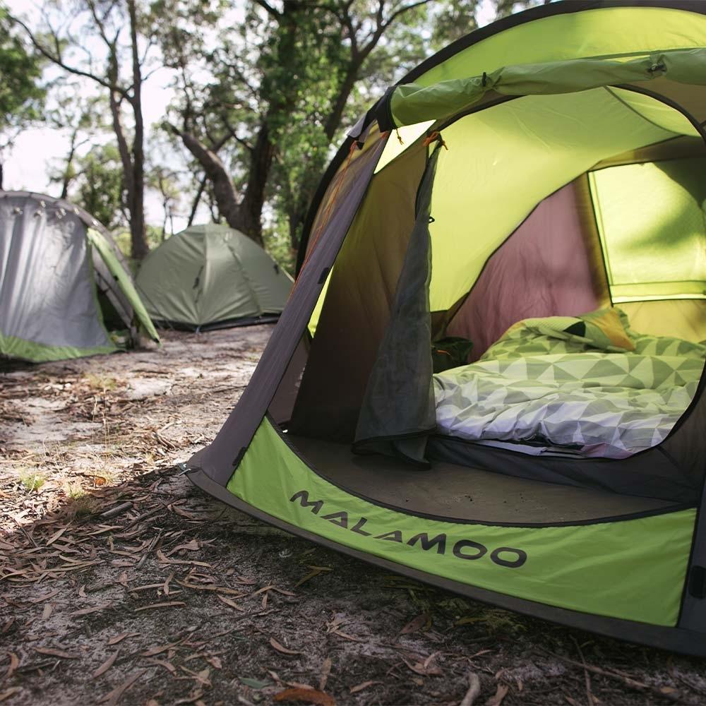 Oztent Malamoo Cicara 2.0 3P Tent - Vistibule space