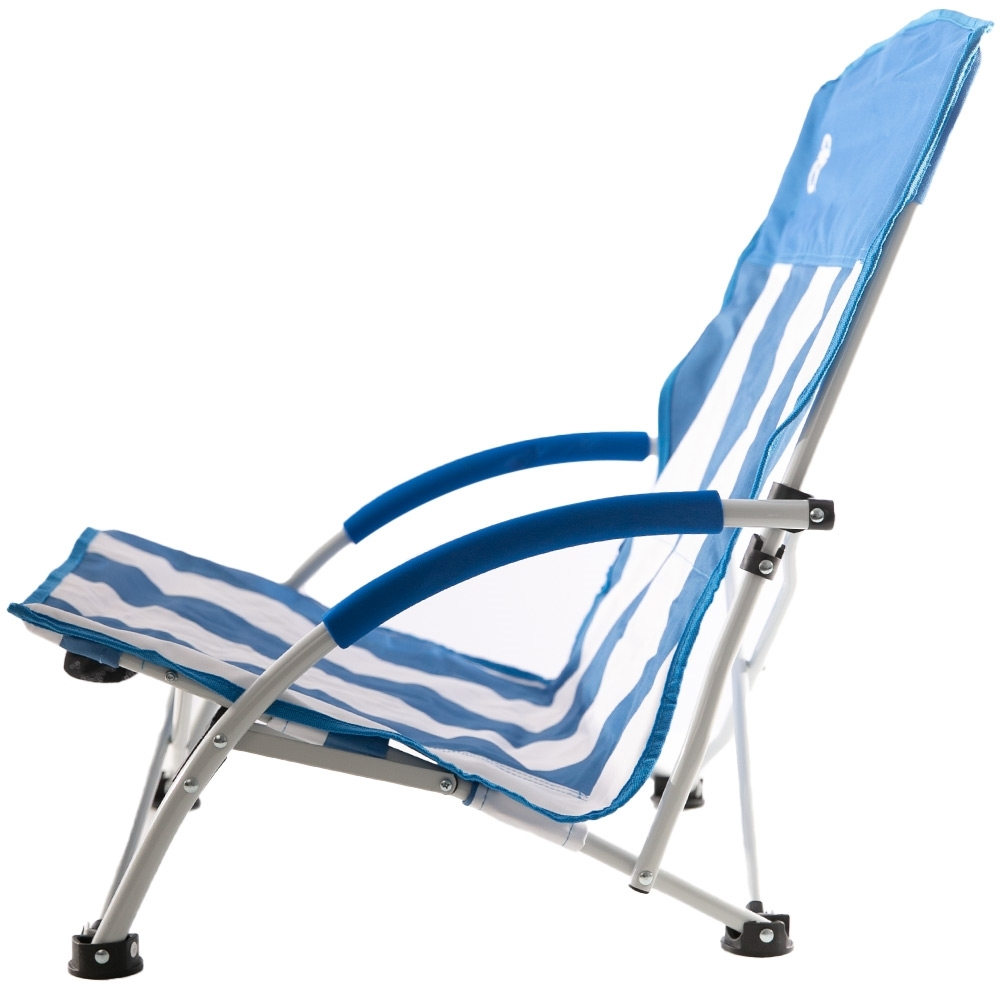 Coleman Low Sling Beach Chair - Side view