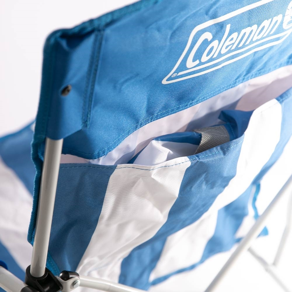 Coleman Low Sling Beach Chair - Back pocket