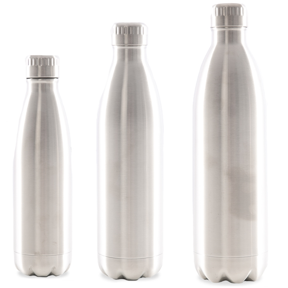 Avanti Fluid Vacuum 750ml Bottle Stainless - Three sizes