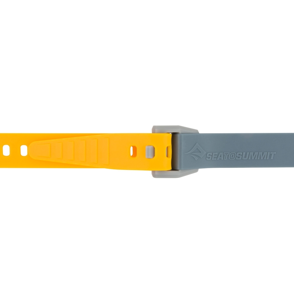 Sea to Summit Stretch-Loc 20 TPU Straps 20mm x 500mm 2 Pack - Two or more straps can be joined to increase length