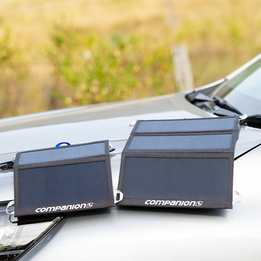 Companion 21W Solar Charger - 10W & 21W Solar Chargers