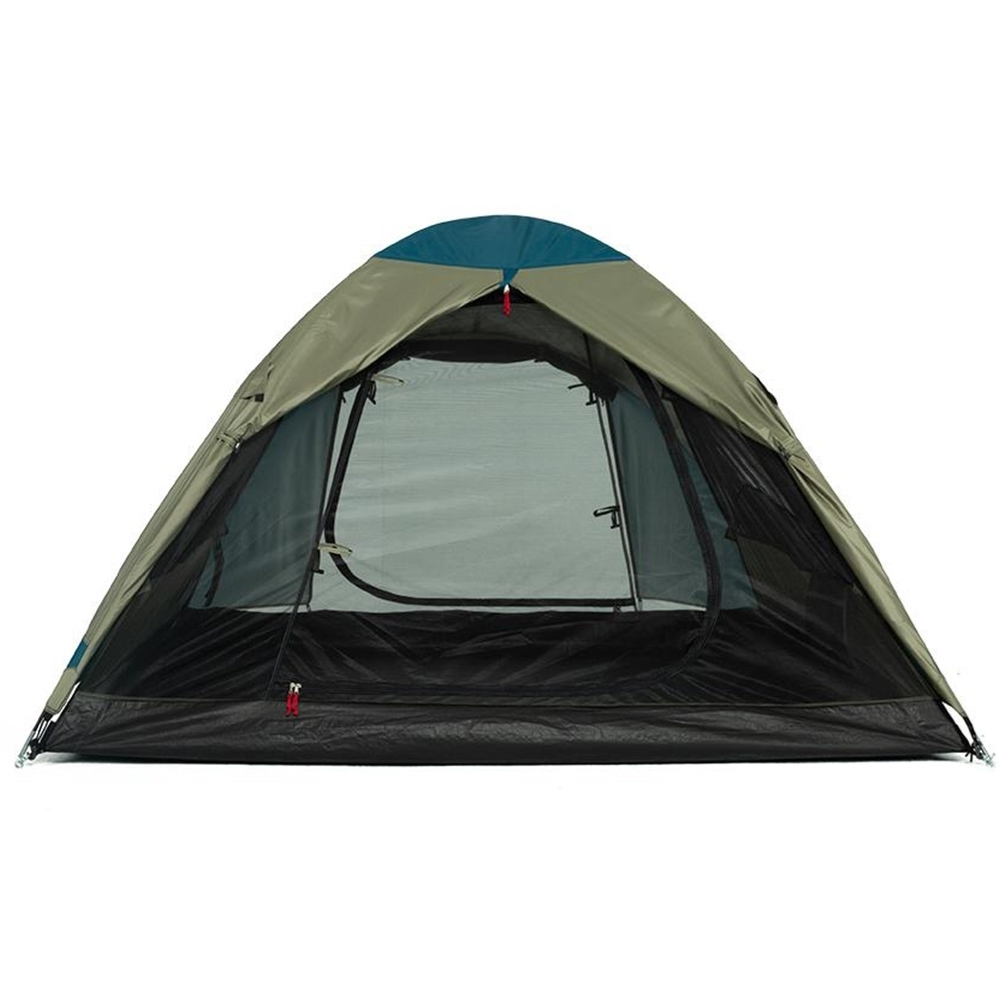 OZtrail Tasman 3V Dome Tent - Front and rear D-Doors for easy and simple access