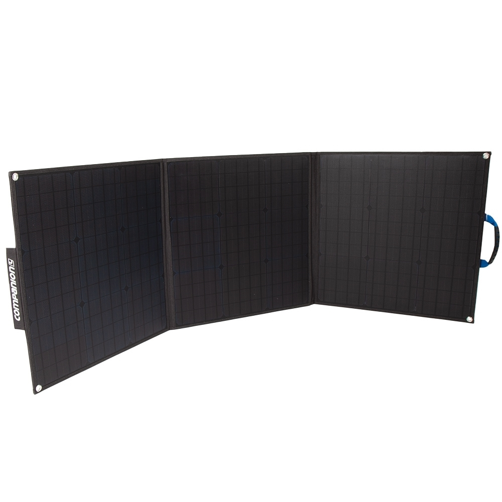 Companion 120W Solar Charger - High efficiency solar cells
