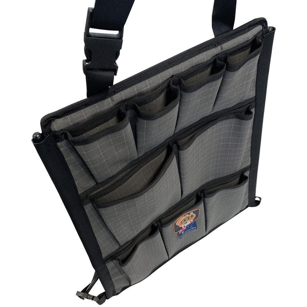 AOS Canvas 12 Pocket Seat Organiser