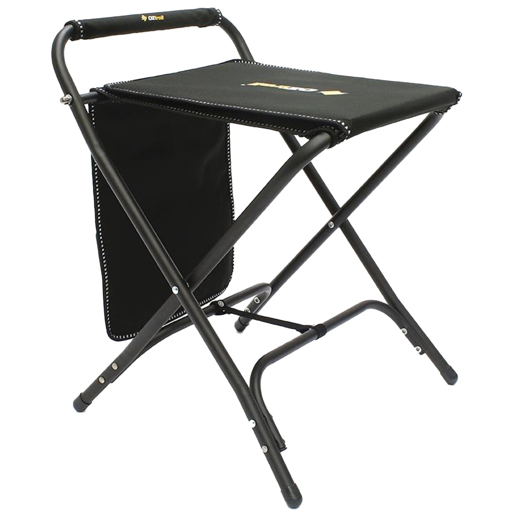 OZtrail RV Travel Mate Camp Stool - Flip top table section for stabilizing accessories