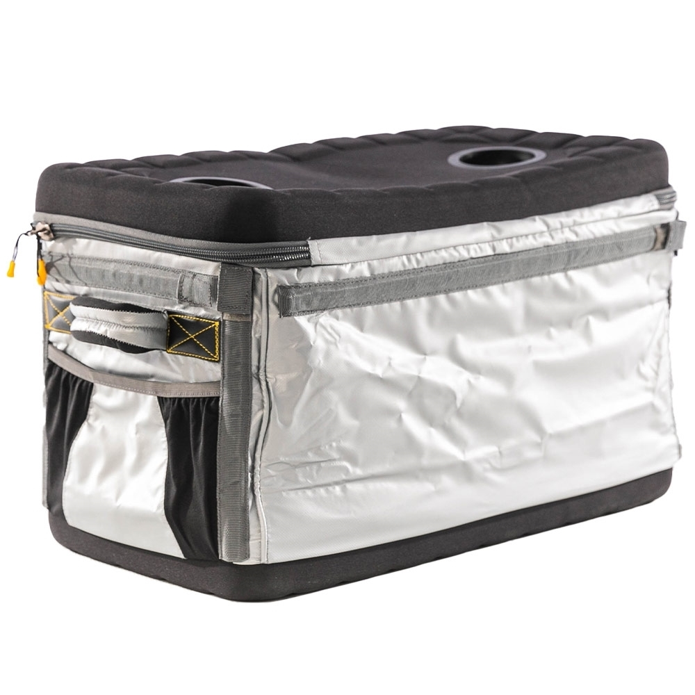 OZtrail Iceman Heavy Duty 45L Chest Cooler - EVA Moulded lid and base for added stability when in use