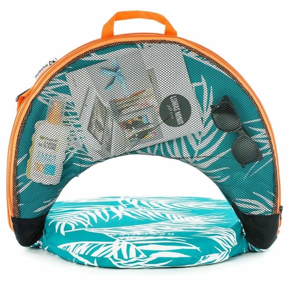 SlumberTrek Bondi Cushion Recliner - Handy storage pocket
