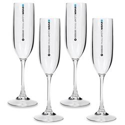 Everclear Tritan Champagne Flute 145ml 4Pk
