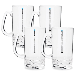 Everclear Tritan Beer Mug 530ml 4Pk