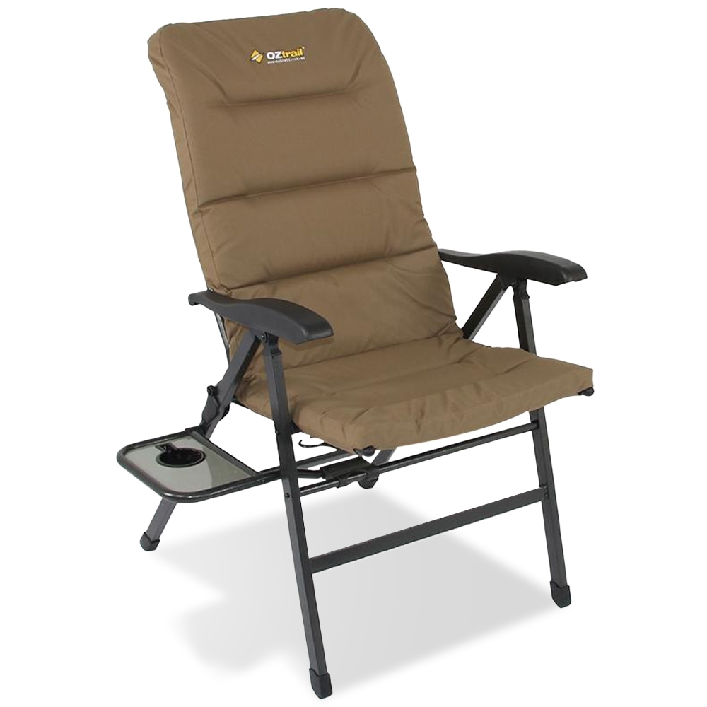 OZtrail Emperor 8 Position Recliner Chair